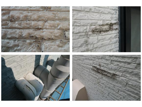 経年劣化による【壁の傷み・割れを解決】外壁屋根修繕