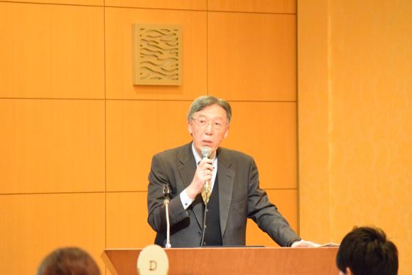 坂本教授の特別講義1